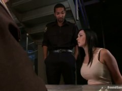 Prison guards are fucking French girl Angell Summers